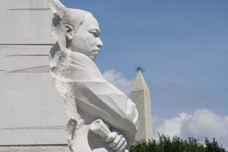 Martin Luther King Memorial, Washington DC, USA, January 2019 (Woubishet Z Taffese)